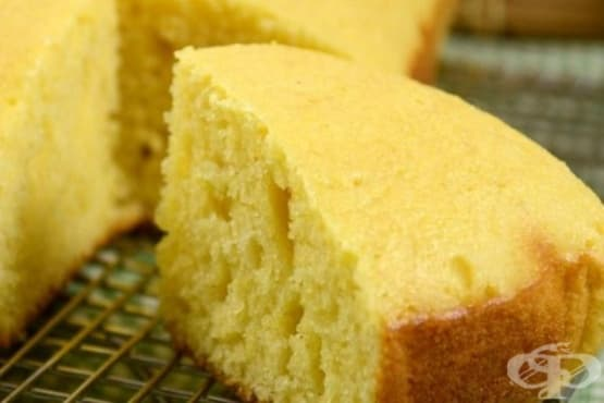 Царевичен кекс с мътеница - изображение