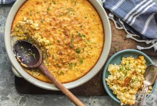 Мусака от царевица с кашкавал и сирене - изображение