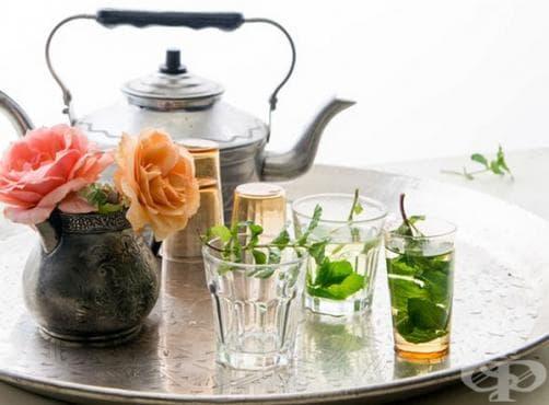 Ароматен чай от мента - изображение