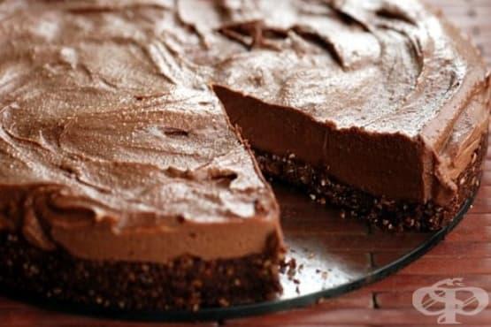 Чийзкейк с шоколадова паста Нутела (без печене) - изображение
