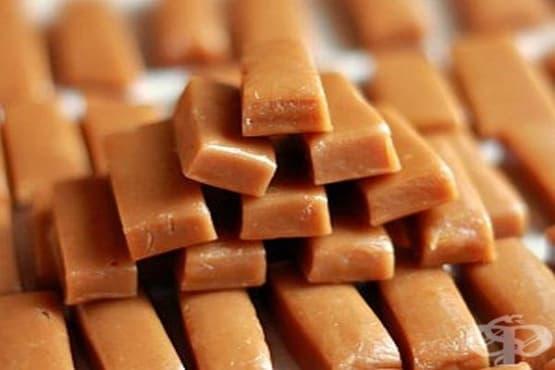 Домашни карамелени блокчета със сметана и мед - изображение