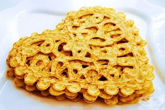 Как да си направим дантелени палачинки - изображение