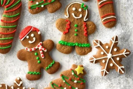 Меки джинджифилови курабийки за Коледа - изображение