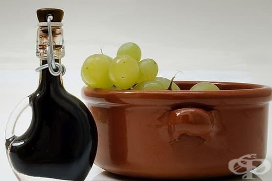 Домашен оцет от грозде - изображение