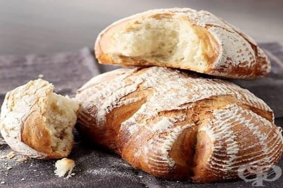 Домашен бял хляб със закваска - изображение