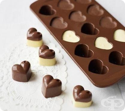 Домашни шоколадови бонбони - изображение