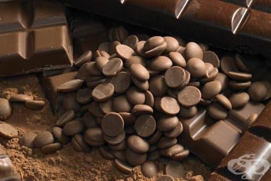 Домашни шоколадови капки - изображение