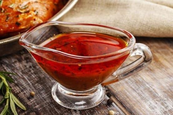 Доматена марината с цитрусов сок за пилешко месо - изображение