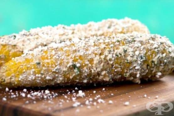 Елоте (мексиканска улична царевица) - изображение
