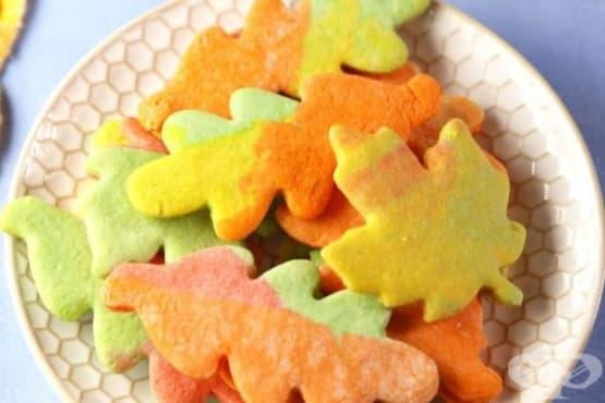Шарени есенни бисквити - изображение