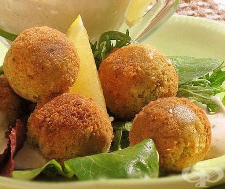 Фалафели от хумус и козе сирене - изображение