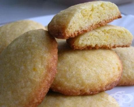 Царевични бисквитки с лимон - изображение