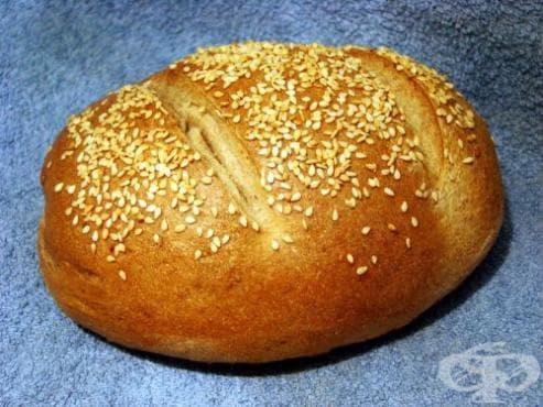 Ръжено-пшеничен френски хляб - изображение