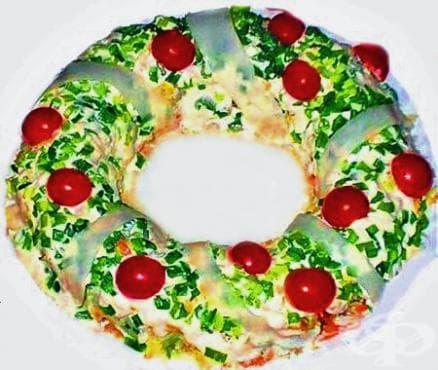 Коледен венец - изображение