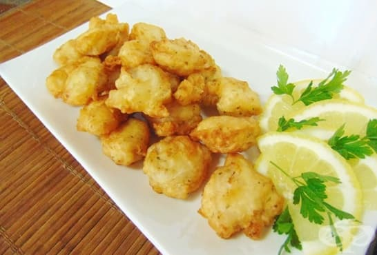 Панирани пилешки хапки с паста Патафри - изображение