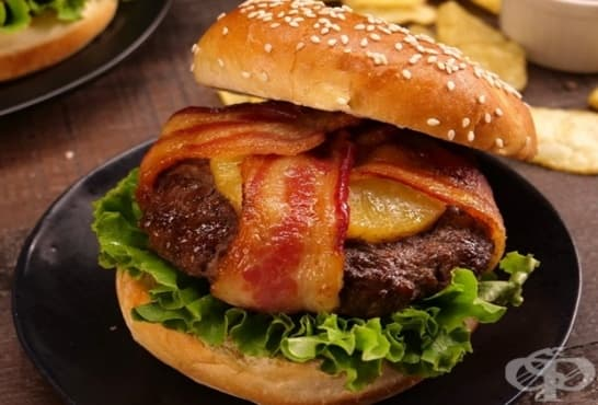 Хавайски бургер - изображение