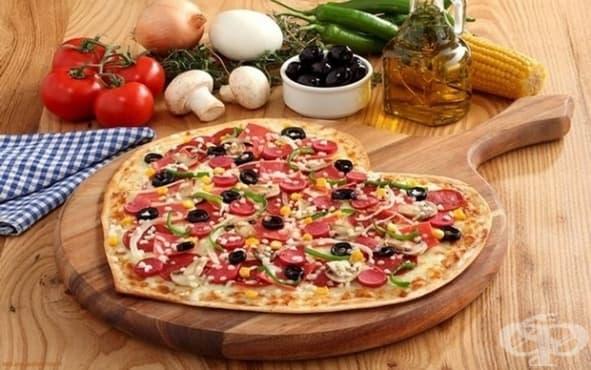 Пица за Свети Валентин - изображение