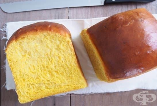 Тиквени хлебчета на конци - изображение