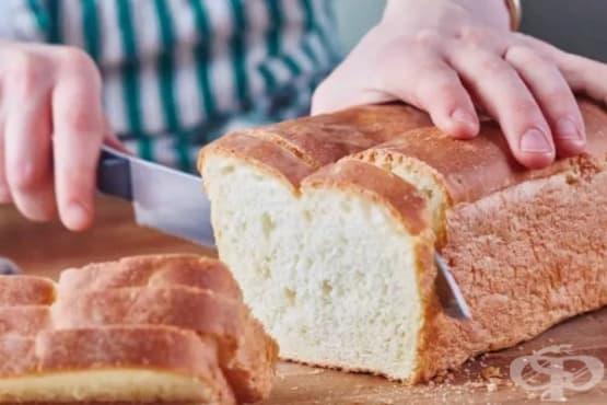 Лесен бял хляб за сандвичи - изображение