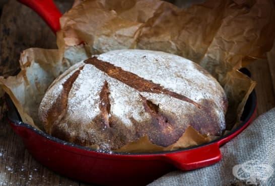 Хляб с квас и тиквени семена - изображение