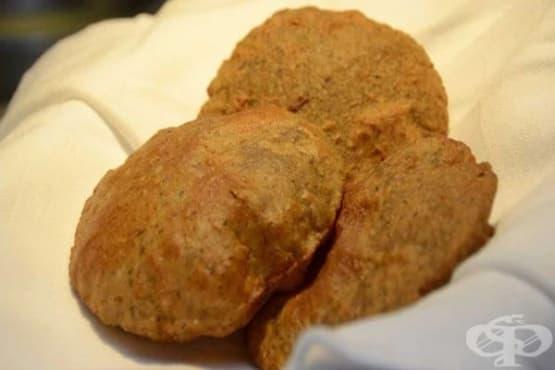 Индийски хлебчета с брашно от елда - изображение