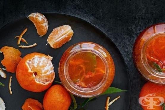 Желирано сладко от мандарини - изображение
