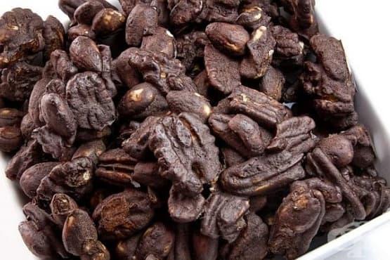 Какаови орехи с канела - изображение