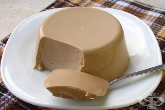 Какаово суфле от обезмаслена извара с мед - изображение