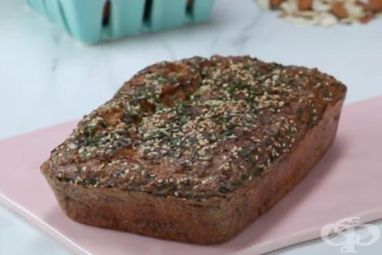 Хляб от карфиол и бадемово брашно - изображение