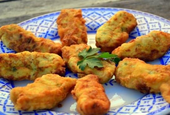 Крокети от картофи и коприва  - изображение