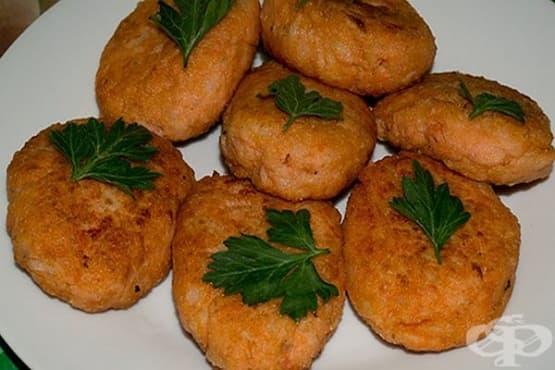Картофени кюфтета с елда на фурна - изображение