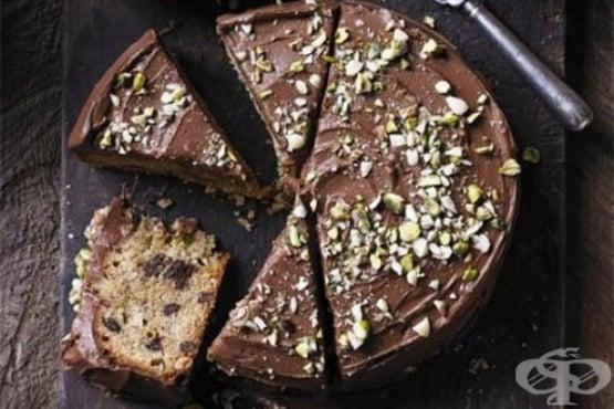 Кекс с шоколад и круши - изображение