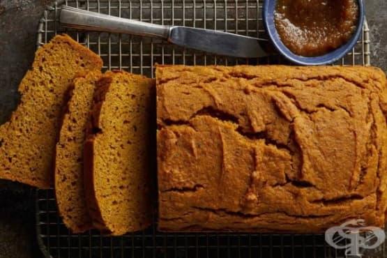 Веган тиквен кекс - изображение
