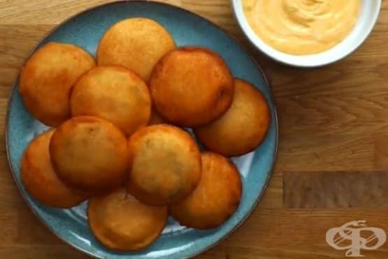 Пържени кюфтета в хлебна обвивка - изображение