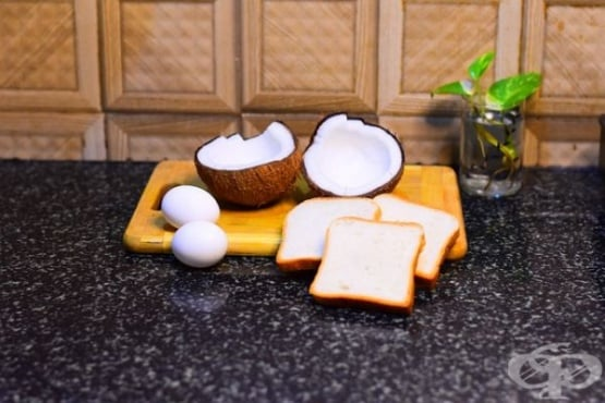 Рецепти за домашен хляб с кокосово брашно - изображение