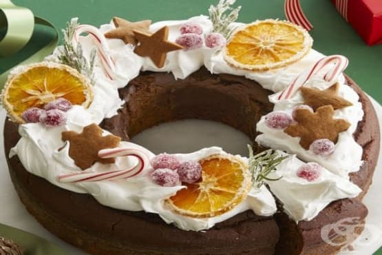 Празничен кекс за Коледа - изображение