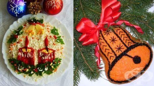 Коледно-новогодишни идеи за оформяне на ястията - Четвърта част - изображение