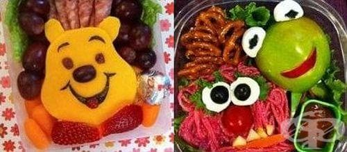 Симпатични креативни ястия за нашите деца - изображение