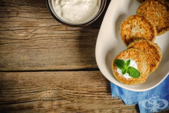 Кюфтета от патладжани, кашкавал и ръжен хляб - изображение