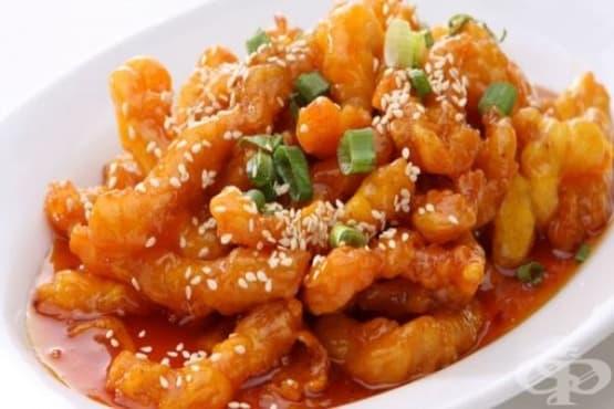 Лютиви картофки с мед - изображение