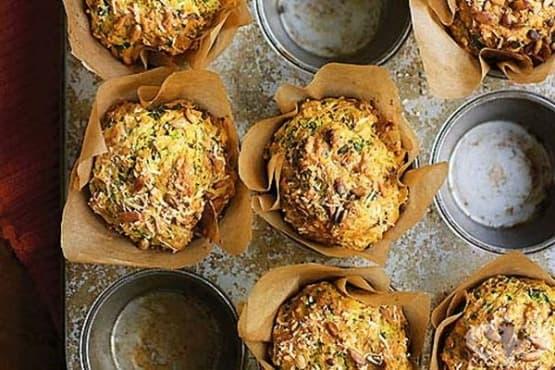 Зеленчукови мъфини със семена - изображение