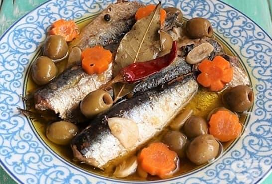 Мариновани сардини по испански - изображение