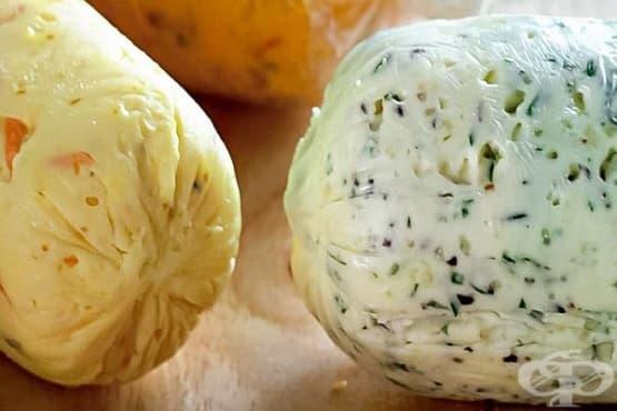 Масло с каперси и червен лук - изображение