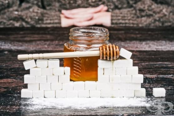 Как да заменим захарта с мед - изображение