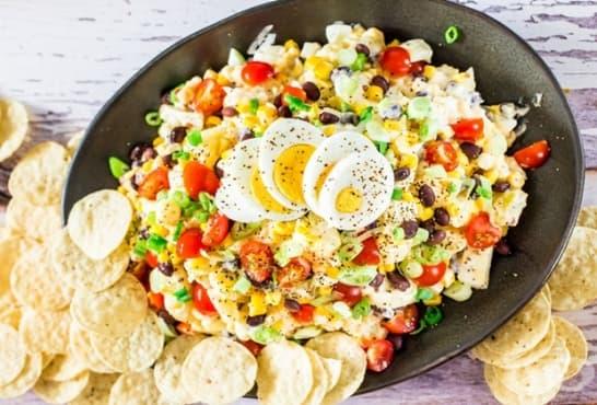 Мексиканска картофена салата - изображение