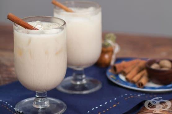 Мексиканска млечна напитка с ориз Орчата - изображение