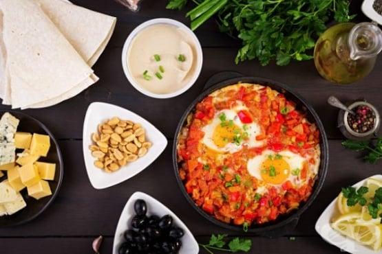 Оригинални рецепти за яйца шакшука - изображение