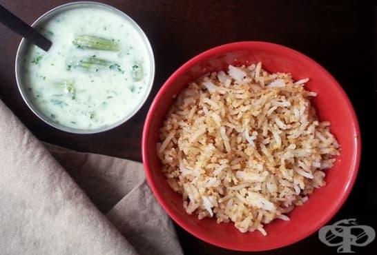 Ориз с ядки и сусам - изображение