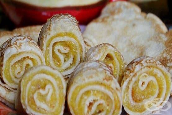 Палачинки с печен тиквен крем - изображение