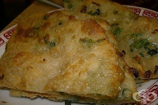 Запечени палачинки със сирена и броколи - изображение